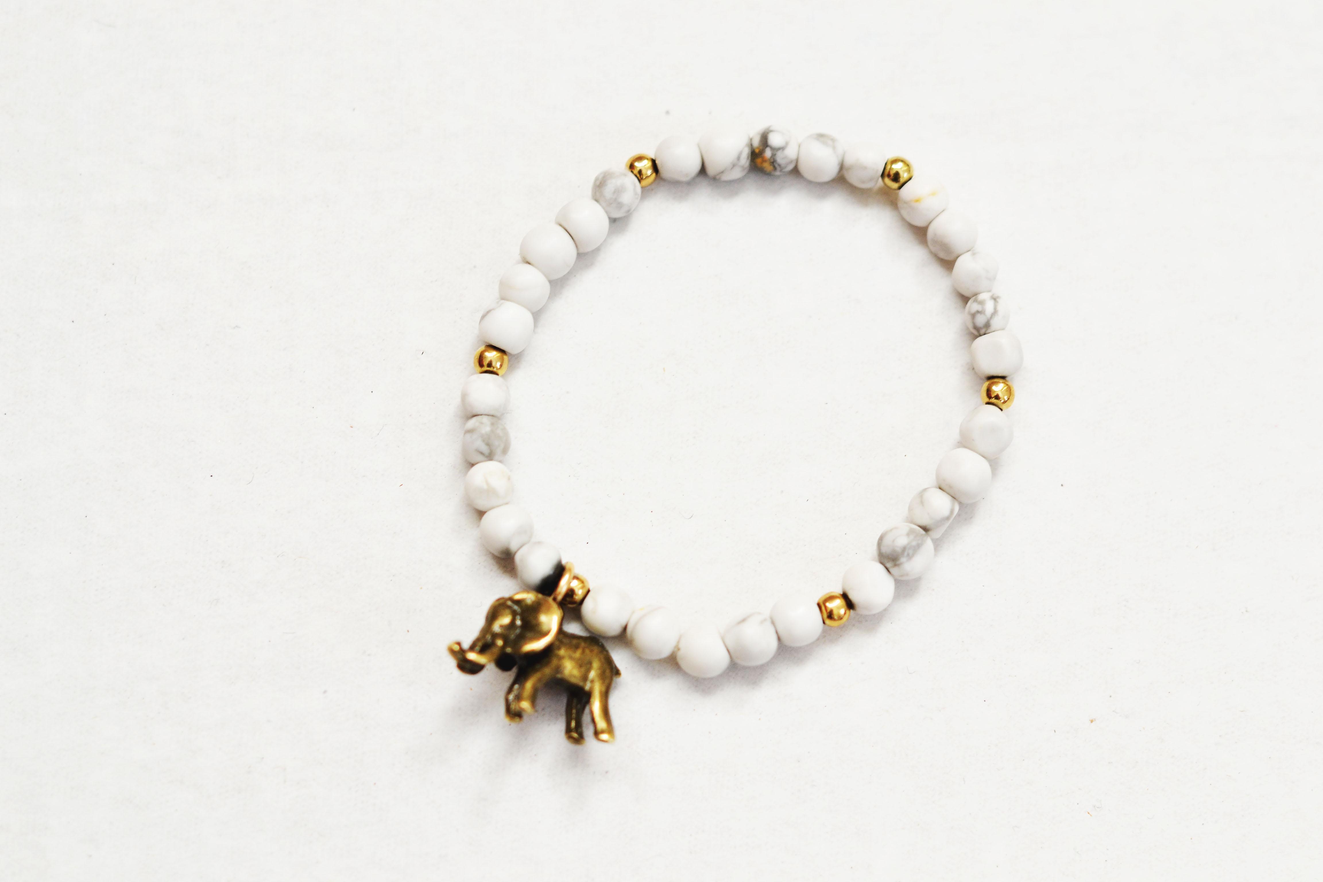 elephant charm bracelet the shine project