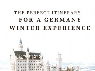 The Most Magical Winter: Germany Travel Guide